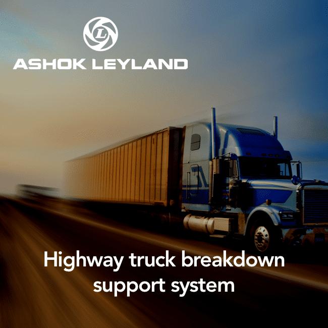 Ashokleyland - highway breakdown