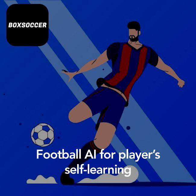 Boxsoccer - football player app