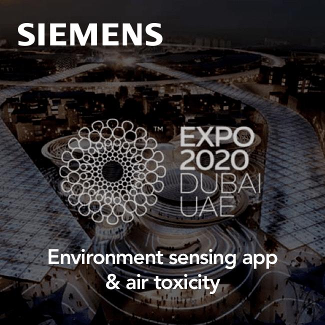 Expo 2020 - IoT data visualization
