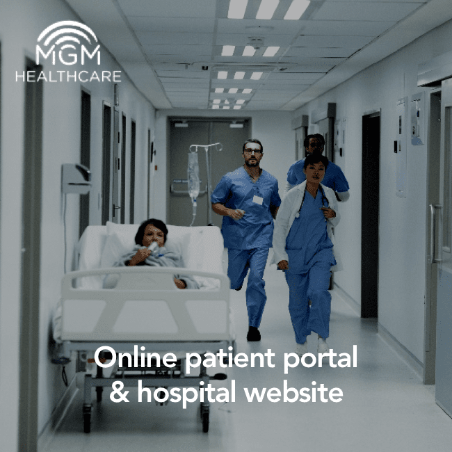 MGM - hospital and patient emr portal