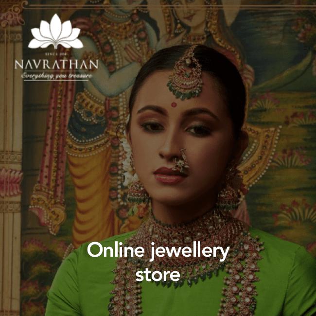 Navrathan - jewellery ecommerce