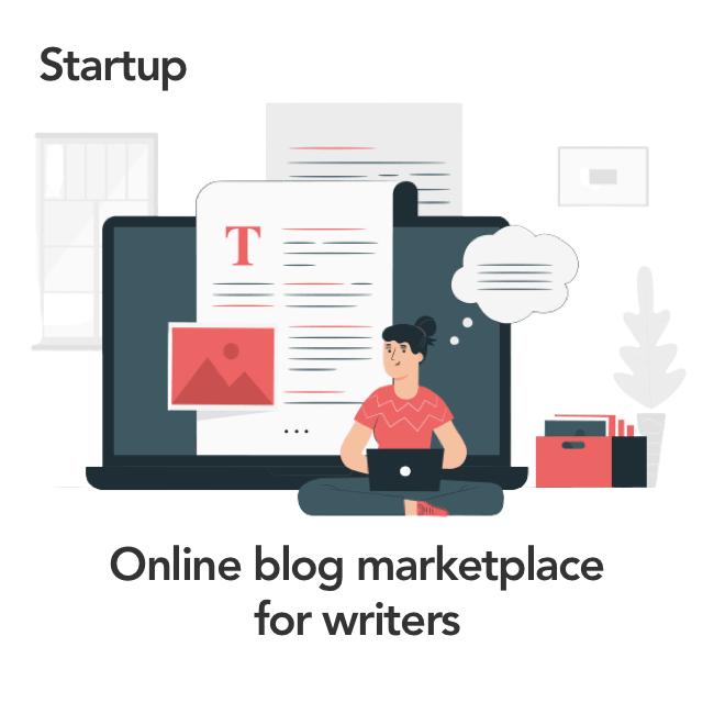 Online blog marketplace development