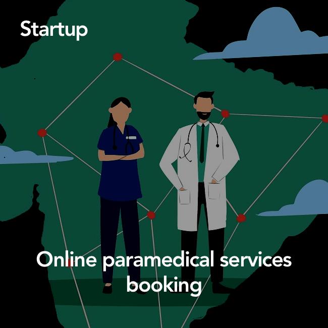 Online paramedical services platform