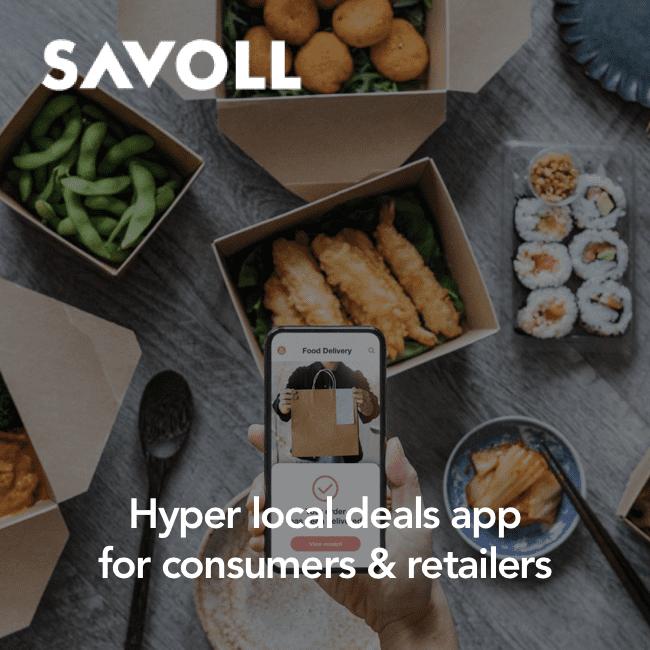 Savoll - hyper local deals app