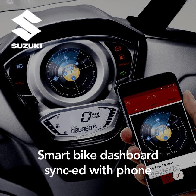 Suzuki - smart bike dashboard