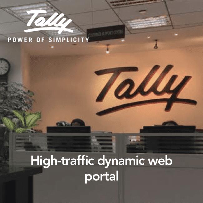 Tally - high traffic dynamic web portal